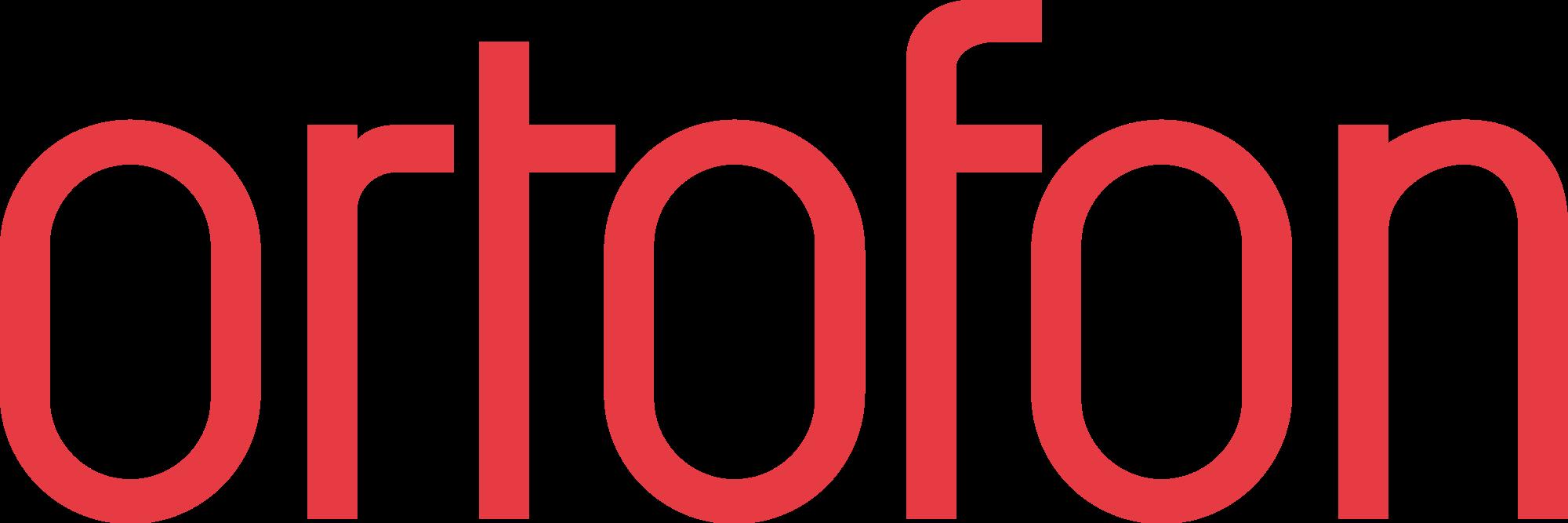 Logo ortofon red