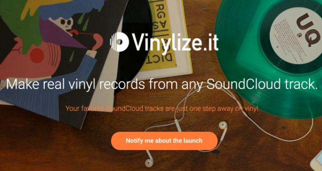Vinylize it Turns Any Soundcloud Track Into Vinyl - Scratch